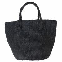 【対象商品】サイザルバッグ黒 9インチ